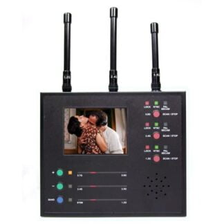 Wireless Camera Detector and Video Scanner