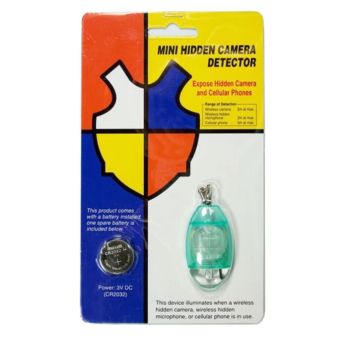 Key Ring Phone and Wireless Camera Detector