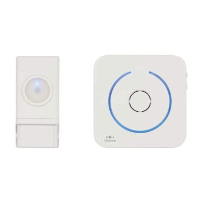 Battery Operated Wireless Doorbell and 50 meter transmission range
