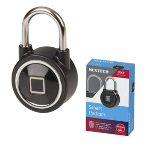 Bluetooth Controlled with Fingerprint Scanner Padlock