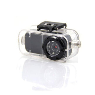 Underwater FHD Metal Mini Action Video Camera with IR