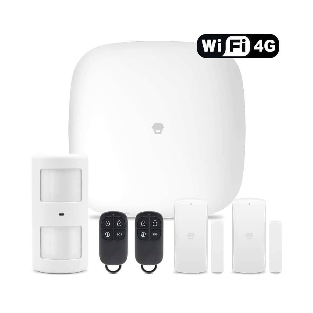 Chuango WIFI 3G 4G Wireless DIY Smart Home Security Alarm