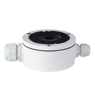 Weather Sealed White 108mm Camera Base Junction Box