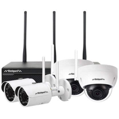 WiFi Series 4 Channel 3.0MP Wireless IP Surveillance Kit