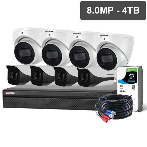 1080P 2MP FHD Dome and Bullet Mix