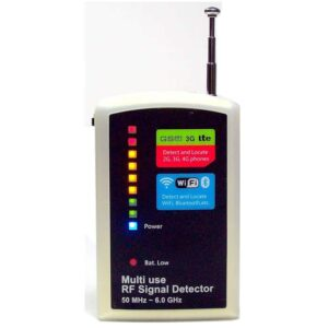Versatile RF Bug Detector and Wireless Camera Detector