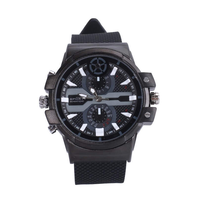 2K 1296P Super HD 16GB Spy Camera Watch