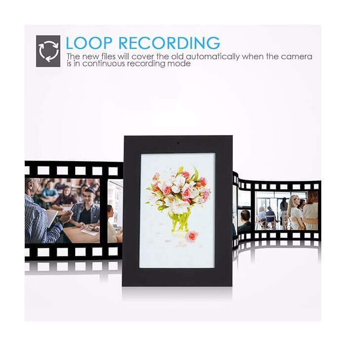 Picture Photo Frame Hidden Spy Camera