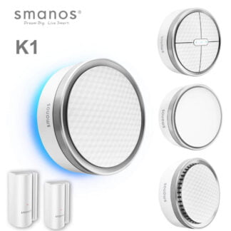 Smanos Smart Home Alarm Systems with Google and Alexia Control