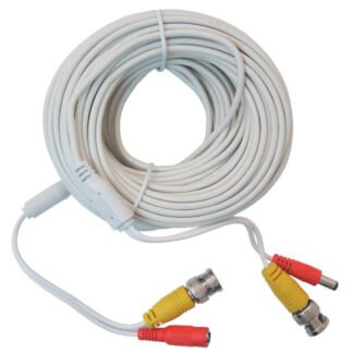 20m BNC Video and Power Security System Cable for HD Cameras