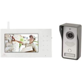 2.4GHz Digital Wireless 7 inch LCD Video Doorphone