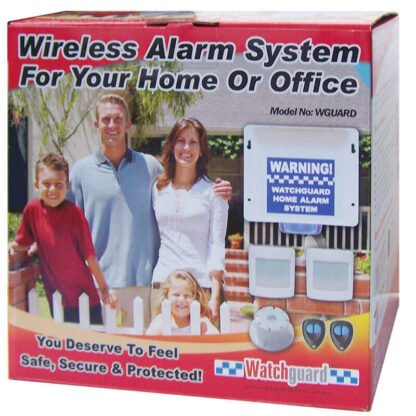 Watchguard Wireless Home Office Alarm System