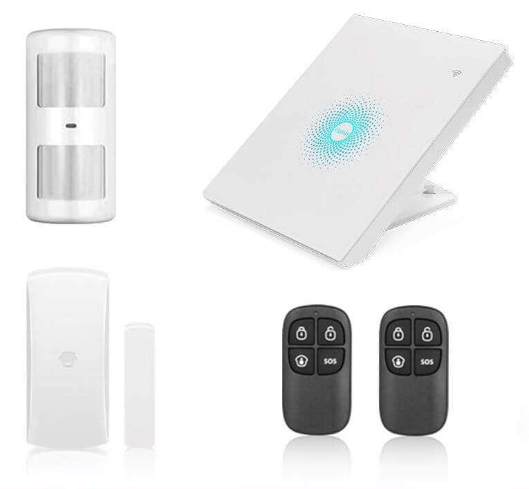 Chuango AW1 Plus WiFi Home Security Alarm