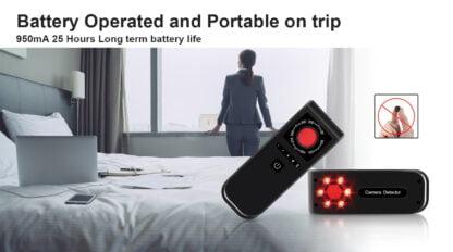 Anti-Spy Hidden Camera Finder