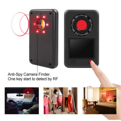 Spy Camera Detecton with Night Vision Light Detection & IR Scanning