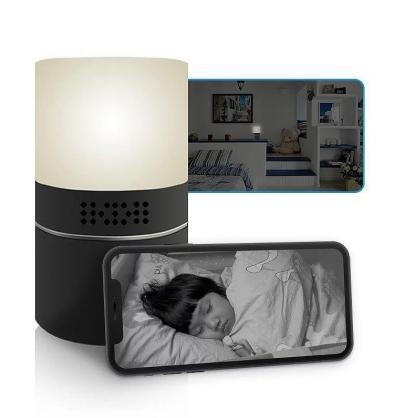 Coloured Lamp Hidden Camera Wi-Fi 1080P Spy Cam