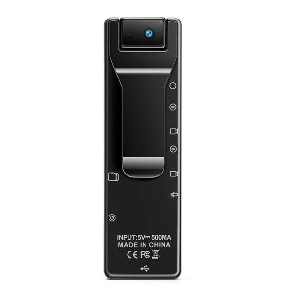 Mini Spy Cam Rotating Lens Wearable Body Camera