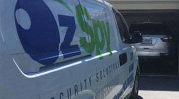 OzSpy Security System Installation