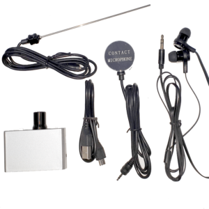 Wall Microphone Listening Device with Probe